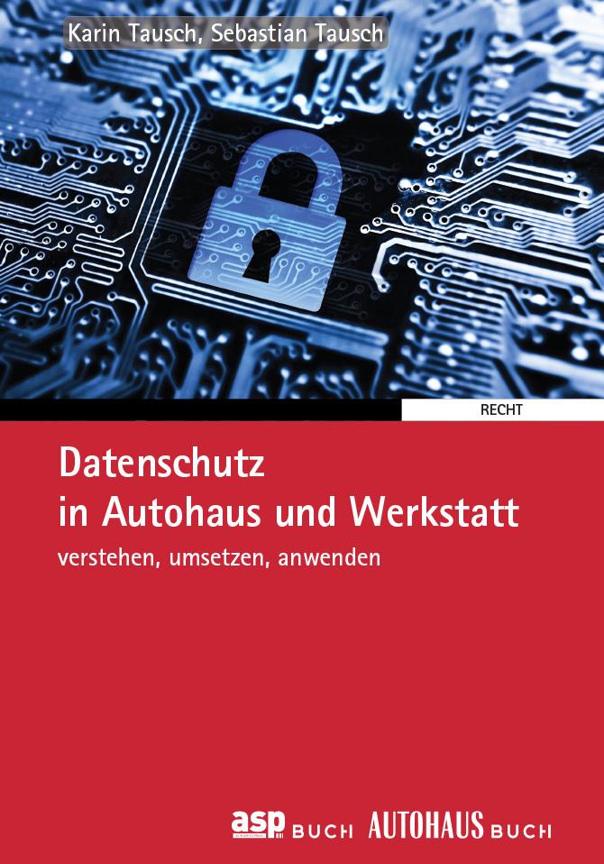 Cover Buch Datenschutz in Autohaus und Werkstatt